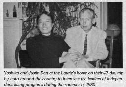 Justtin and Yoshiko Dart, 1980