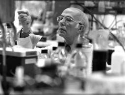 Renato Dulbecco, MD. Courtesy of the Salk Institute for Biological Studies.